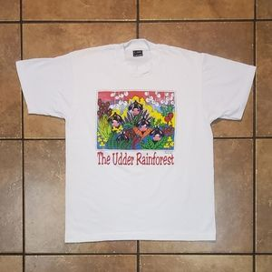 Vintage The Udder Rainforest Single Stitch T-Shirt